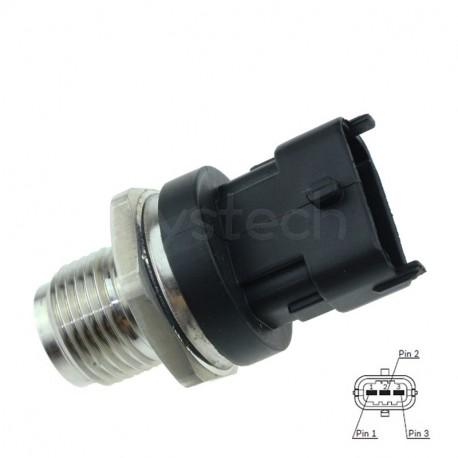 Capteur pression carburant remplace Bosch 0281006325