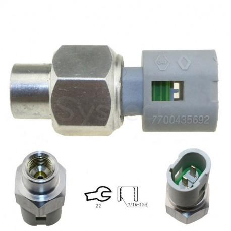 Capteur pression huile direction assistée remplace 7700413763